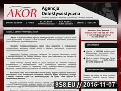 Miniaturka domeny www.agencja-akor.pl