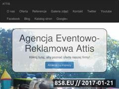 Miniaturka domeny agencja-eventowa-attis.pl