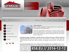 Miniaturka domeny www.agencja-taksator.pl