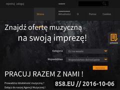 Miniaturka domeny www.agencjamuzyczna.eu