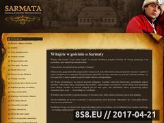 Miniaturka domeny www.agencjasarmata.pl