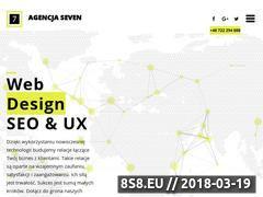 Miniaturka agencjaseven.pl (Agencja reklamowa - strony WWW i pozycjonowanie)