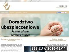 Miniaturka domeny www.agentdoradca.waw.pl