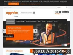 Miniaturka domeny www.aggreko.pl