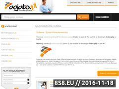 Miniaturka domeny www.agiato.pl
