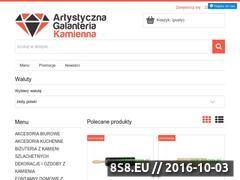Miniaturka agk.istore.pl (Artystyczna Galanteria Kamienna)