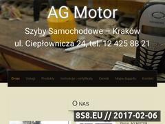 Miniaturka domeny www.agmotor-autoszyby.pl