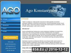 Miniaturka domeny www.agotablice.pl