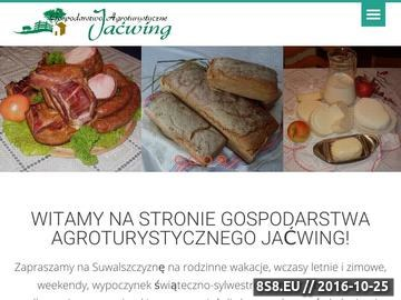 Zrzut strony Gospodarstwo Agroturystyczne JACWING