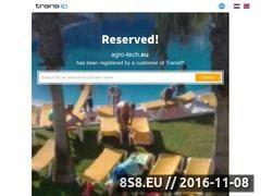 Miniaturka domeny www.agro-tech.eu