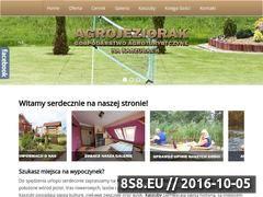 Miniaturka agrojeziorak.pl (Agroturystyka - pokoje na Kaszubach)