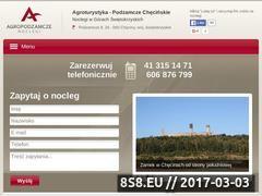 Miniaturka domeny www.agropodzamcze.pl