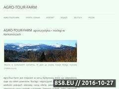 Miniaturka agrotourfarm.pl (Noclegi w apartamentach, pokojach i domku)