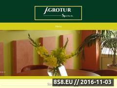 Miniaturka domeny www.agrotur-wynajem.pl