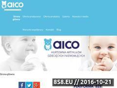 Miniaturka domeny www.aico.com.pl