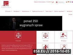 Miniaturka Dochodzenie odszkodowań z AIF we Wrocławiu (www.aif.com.pl)