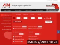 Miniaturka domeny www.ainkurier.pl