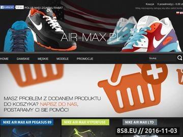 Zrzut strony Oryginalne buty do biegania firmy Nike