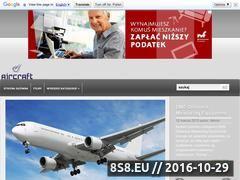 Miniaturka Aircraft - wszystko o samolotach (aircraft.cba.pl)