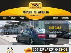 Miniaturka domeny www.airporttaxiwroclaw.pl