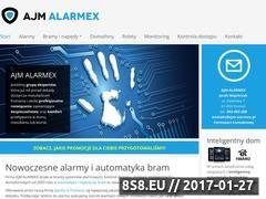 Miniaturka domeny ajm-alarmex.pl