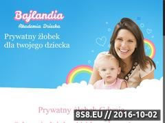 Miniaturka domeny www.akademia-bajlandia.pl