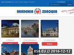 Miniaturka domeny www.akademia-zdrowia.pl