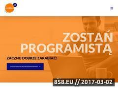 Miniaturka akademia108.pl (Kurs programowania)