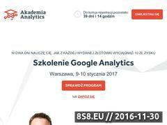 Miniaturka domeny www.akademiaanalytics.pl