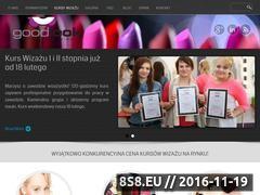 Miniaturka domeny www.akademiagoodlook.pl