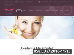Miniaturka domeny www.akademiametamorfoz.pl