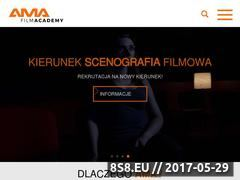 Miniaturka akademiamultiart.pl (Akademia filmowa Kraków)