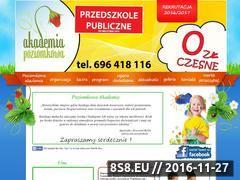 Miniaturka domeny www.akademiapoziomkowa.pl