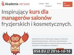 Miniaturka AkademiaVersum - zarządzanie salonem kosmetycznym (akademiaversum.pl)