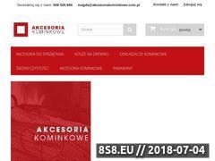 Miniaturka domeny akcesoriakominkowe.com.pl