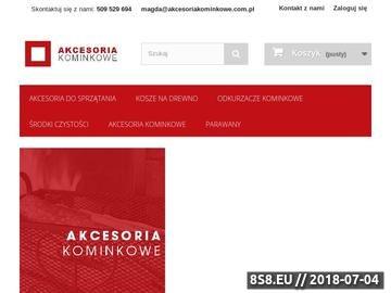 Zrzut strony Kosz na drewno oraz biokominki