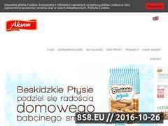 Miniaturka domeny www.aksam.pl