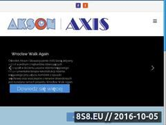 Miniaturka domeny www.aksonaxis.org.pl