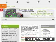 Miniaturka domeny www.akumulatory-zelowe.pl