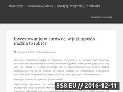 Miniaturka domeny www.akwamarket.pl