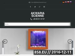 Miniaturka domeny www.akwariascienne.pl