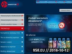 Miniaturka www.akwarystyczny24.pl (Internetowy sklep akwarystyczny Akwarystyczny24.pl)