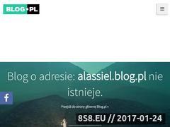 Miniaturka domeny alassiel.blog.pl