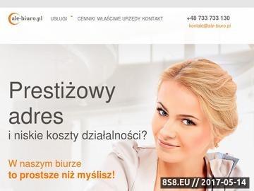 Zrzut strony Wirtualne biuro w Warszawie