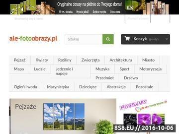 Zrzut strony Sklep internetowy z fotoobrazami modułowymi o tryptyki