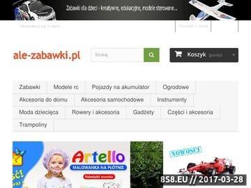 Zrzut strony Ale-zabawki.pl - Modele RC