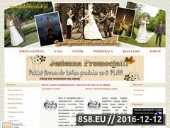 Miniaturka domeny alebedzieslub.pl