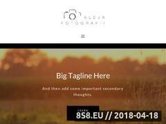 Miniaturka www.alejafotografii.pl (Fotografia ciążowa, noworodkowa i dziecięca)