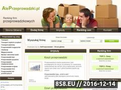 Miniaturka domeny www.aleprzeprowadzki.pl