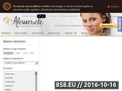 Miniaturka domeny alewesele.pl